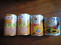 缶詰 みかん 黄桃 トロピカルミックス 88円