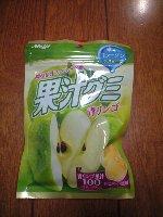 明治 果汁 グミ 青リンゴ