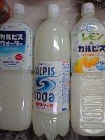 カルピス ウォーター ソーダ レモン&カルピス 1.5リットル 139円