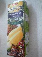 めいらく スジャータ 100%パイナップルジュース 1000ml 128円