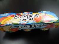 オハヨー 期間限定 どっさり果実とヨーグルト 3個パックで138円
