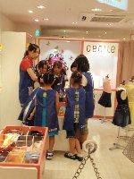 キッザニア甲子園 KIDZANIA ファッションブティック デザイナー セシール