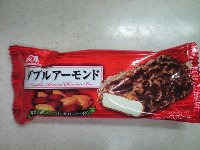 森永 ダブルアーモンド アイス半額 78円