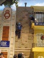 キッザニア甲子園,KIDZANIA,ビルメンテナンス,ビルクライミング,JBR生活救急グループ